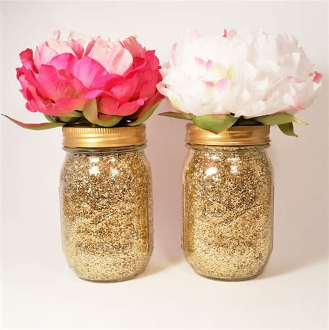 jar centerpiece bridal shower decorations wedding