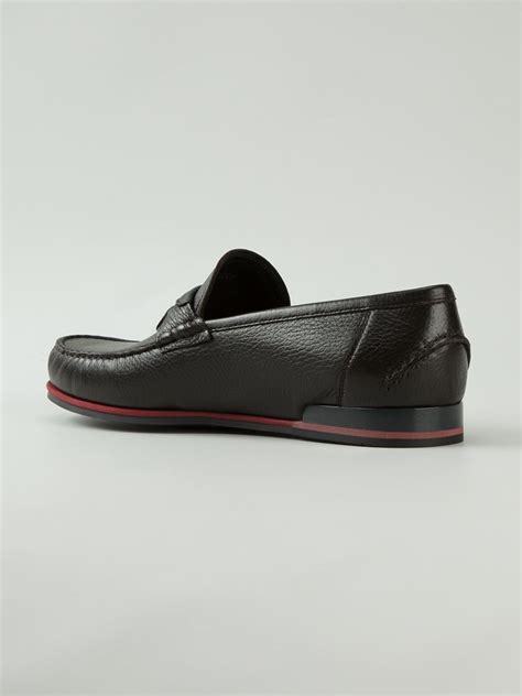 dolce and gabbana loafers dolce gabbana genova loafers in black for lyst