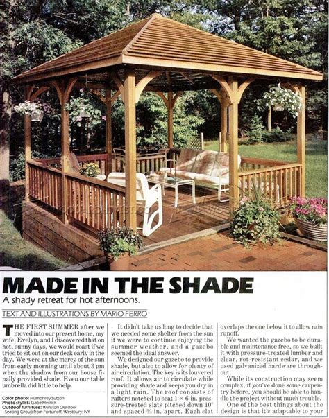 patio gazebo plans outdoor wood gazebo plans modern patio outdoor