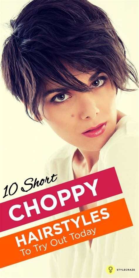 try out hairstyles 20 short choppy hairstyles to try out today short choppy