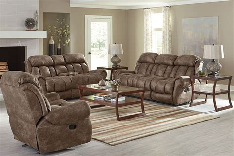summit bomber jacket microfiber reclining living room set
