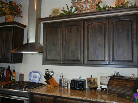 Stained Walnut Cabinetry