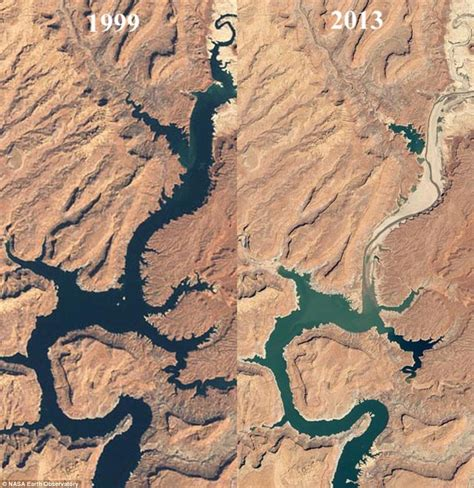 Lake Mead Bathtub Ring Photographs Of The Colorado River Reveal Thousands Of