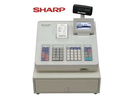 Mesin Kasir Mini sharp xe a 207 register