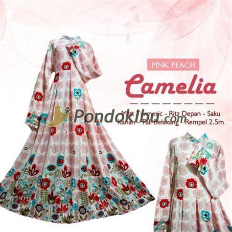 Camellia Syari gamis syar i camelia pink pondok ibu
