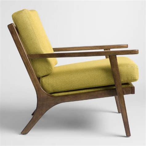 muted lime green xander armchair muted lime green xander armchair world market