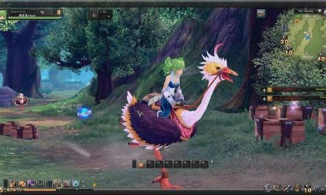 anime free to play aura kingdom is a 3d free to play