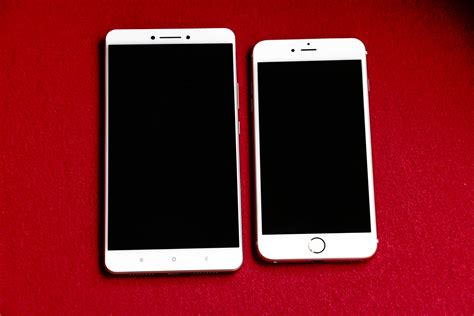 ultimate showdown mi max vs iphone 6plus display comparison mi max mi community xiaomi