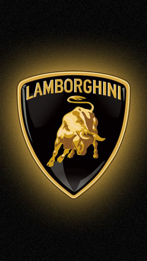 lamborghini logo wallpaper lamborghini logo iphone 5 wallpaper 640x1136