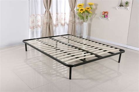 Small Folding Bed Slatted Folding Guest Bed Base Sprung Slat Available In Single Small D Modernique