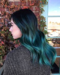 Discon Hair Clip Ombre blue and ombr 233 mermaid hair today lightened ends