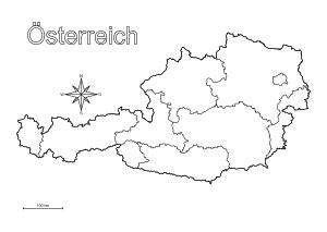 Landkarten Drucken Online by 246 Sterreich Landkarte Zum Ausdrucken My Blog