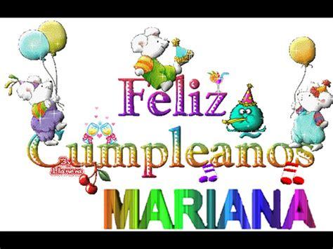 Imagenes Feliz Cumpleaños Mariana | feliz cumple mariana youtube
