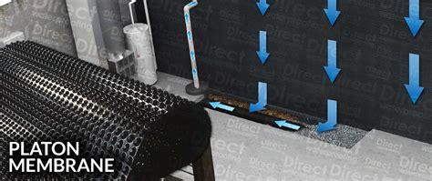 basement floor membrane platon membrane direct waterproofing