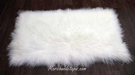 descente de lit nappette descente de lit agneau tibet grande douceur