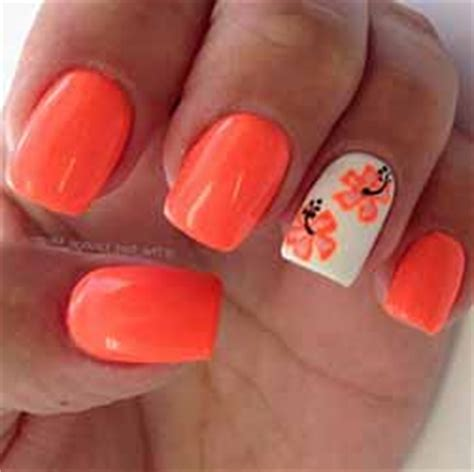 Deco Ongle Gel Orange by Ongle En Gel Orange