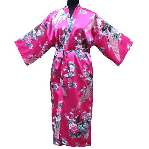 kimono porte kimono fushia oiseau porte bonheur