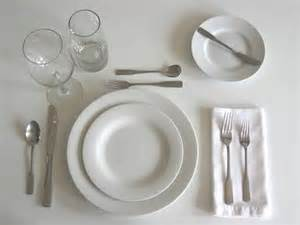 simple table setting basic rules of table setting etiquette inmyinterior all
