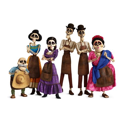 film disney pixar elenco conocemos a los personajes de coco de disney pixar