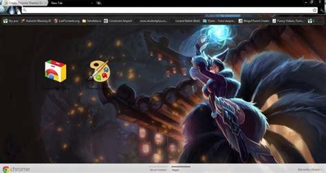 themes google chrome league of legends ahri league of legends chrome theme themebeta