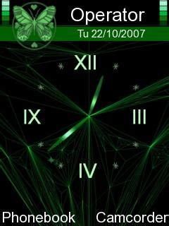 clock themes wap in download clock nokia theme mobile toones