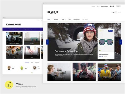 shopify themes with filters verus multipurpose responsive shopify theme by limonija