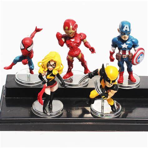 Figure Iron Set Of 3 marvel figures set superheroez