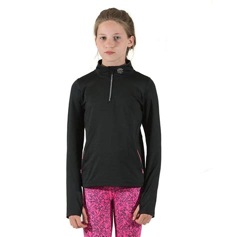 Sleeve Sports Top sleeve sports top thermal pink black everactiv