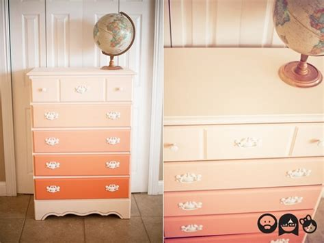 Diy Ombre Dresser by 15 Eye Catching Dresser Diys