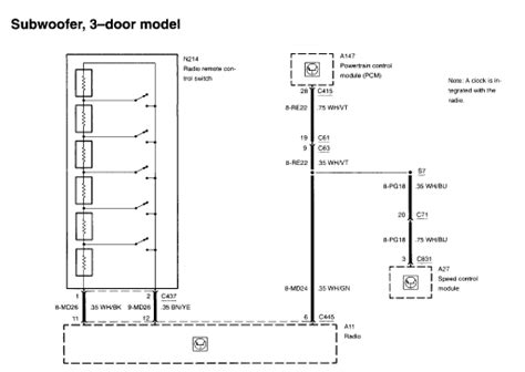 2012 ford focus stereo wiring diagram