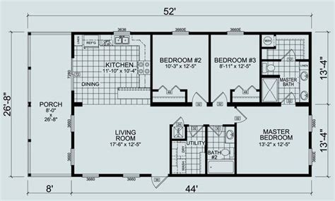 two bedroom mobile homes home design