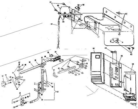 Link Garage Door Opener Parts Link Garage Door Opener Parts Craftsman Garage Door Opener Motor Link Assembly Parts Model