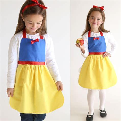 Handmade Snow White Costume - 25 unique princess apron pattern ideas on