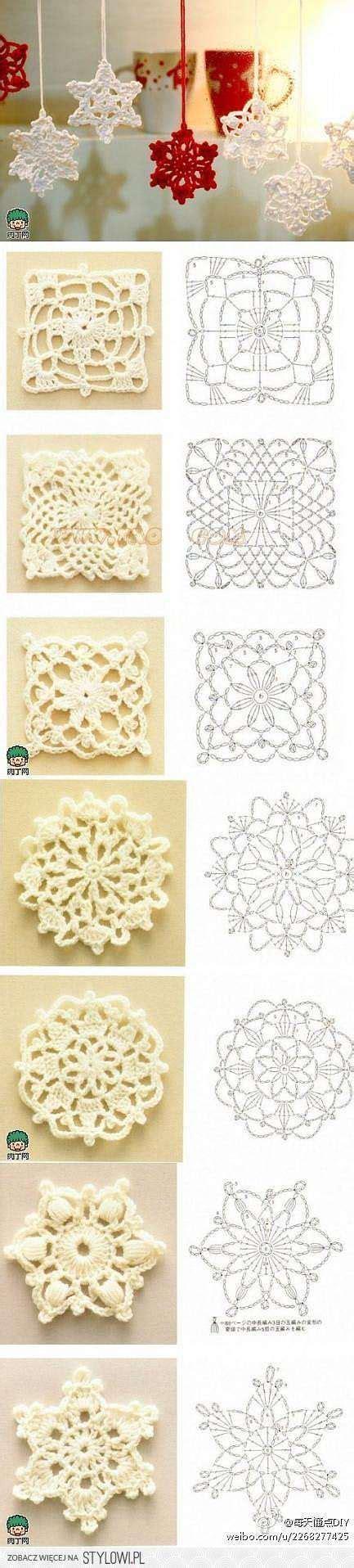 crochet granny square  images  pinterest