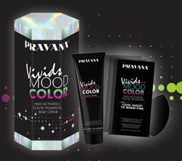 a new color pravana s new color changing hair dye is like a mood ring
