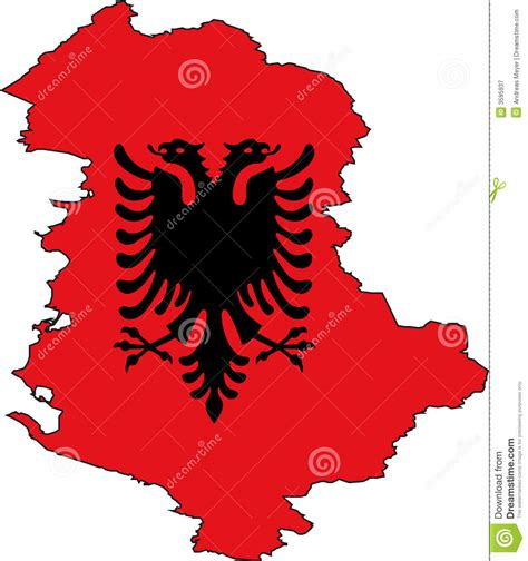 albania map vector map albania vector royalty free stock photography image