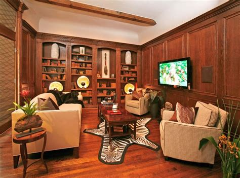 traditional home decor ideas with nice study room style masculine study traditional home theater dallas by