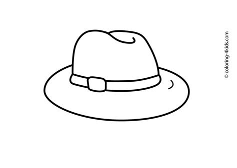 Pics Of Farmer Hat Coloring Page Planting Seeds Different Hat To Color