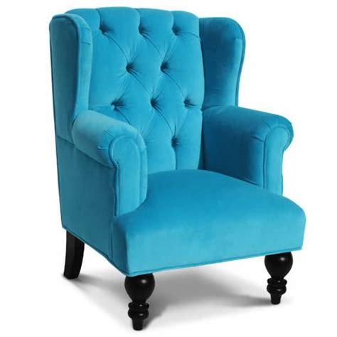 child armchair parker child chair in aqua velvet