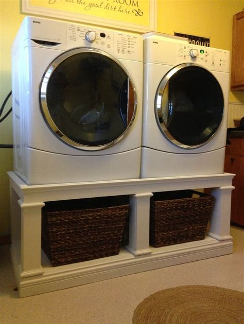 laundry pedestal design laundry room front loaders with pedestals google search