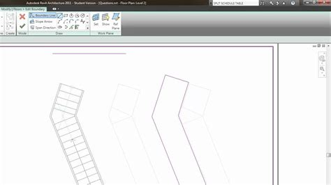 revit tutorial stairs revit 2012 basic stair wall fill tutorial youtube