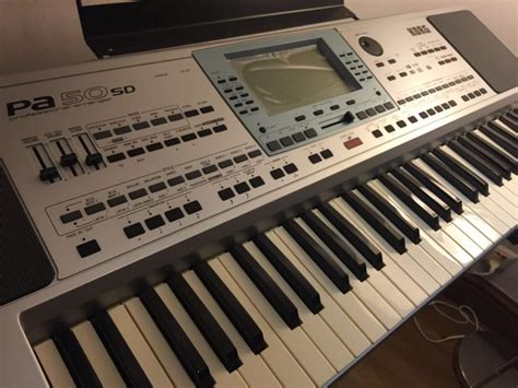 Keyboard Korg Pa50 Baru korg pa 50 sd keyboard singapore