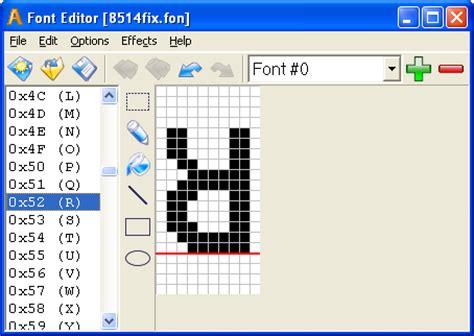 font design editor sib font editor