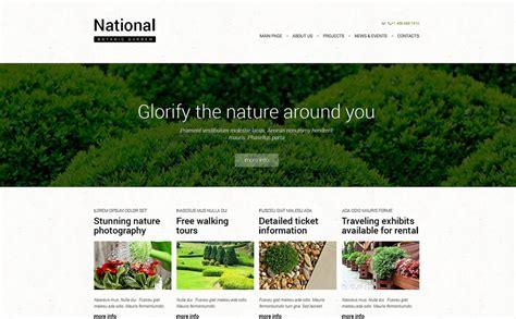 garden design responsive website template 49666