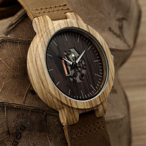 Jam Tangan Kayu Bobobird bobo bird h29 wooden for free shipping watches