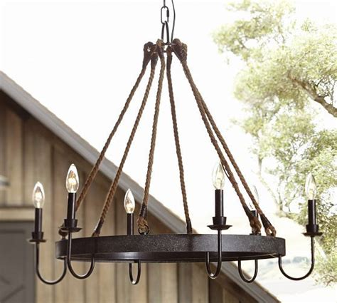 Pottery Barn Wine Chandelier Napa Wine Barrel Chandelier Pottery Barn Decorating I Pinterest Wine Barrels