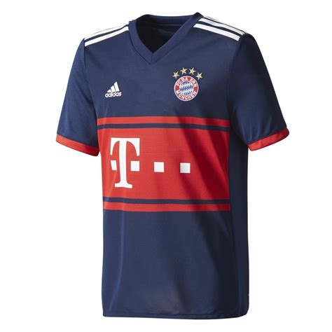 Jersey Munchen Away 2018 adidas bayern munich away junior sleeve jersey 2017