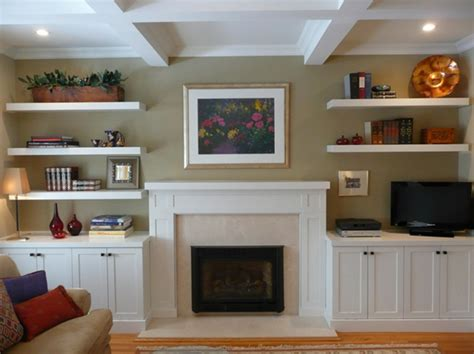 built in shelves flanking television design ideas built ins mantle open shelving love it ideas for