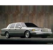 Lincoln Town Car 1994–97 Images 1024 X 768