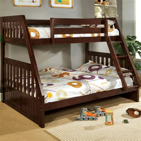 bunk bed twin over full hokku designs logan twin over full bunk bed reviews